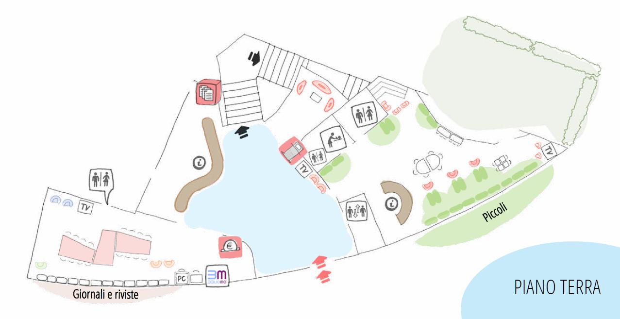 mappa biblio_piano terra