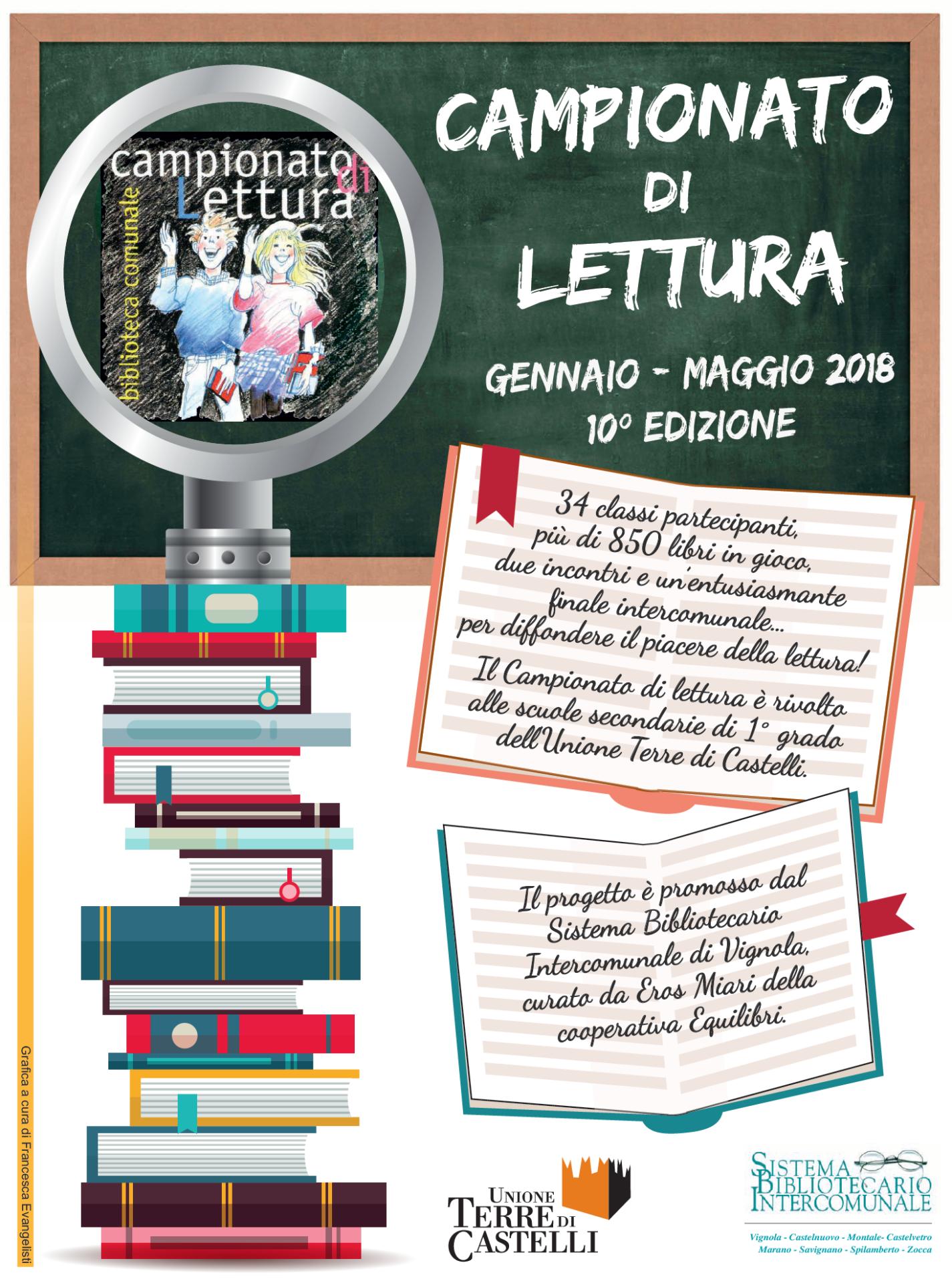 campionato di lettura 2017-2018