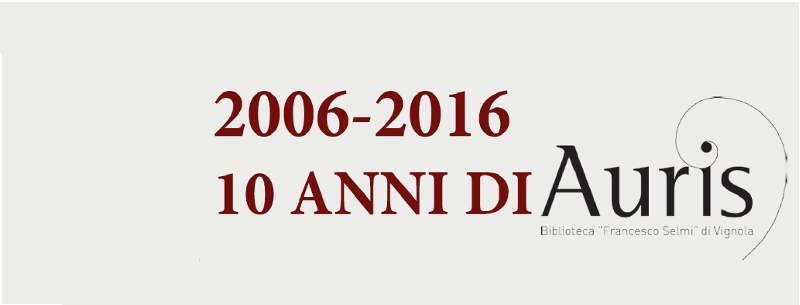 2006-2016 10 anni di Auris