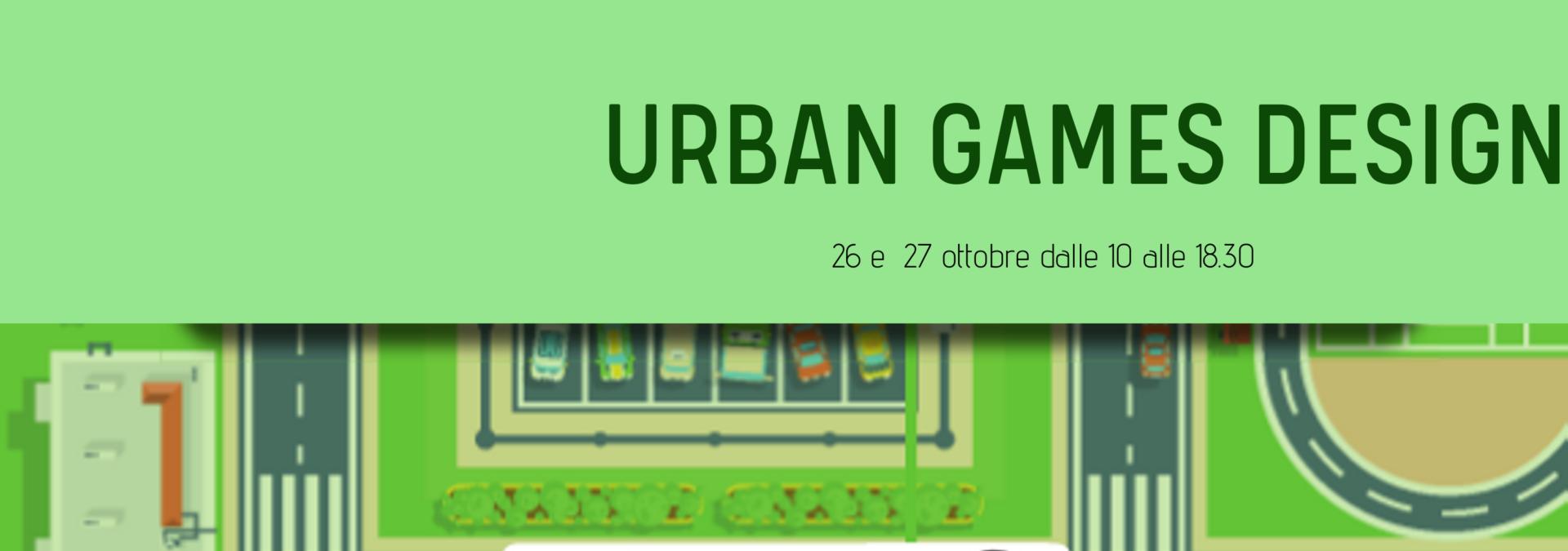 Urban games design