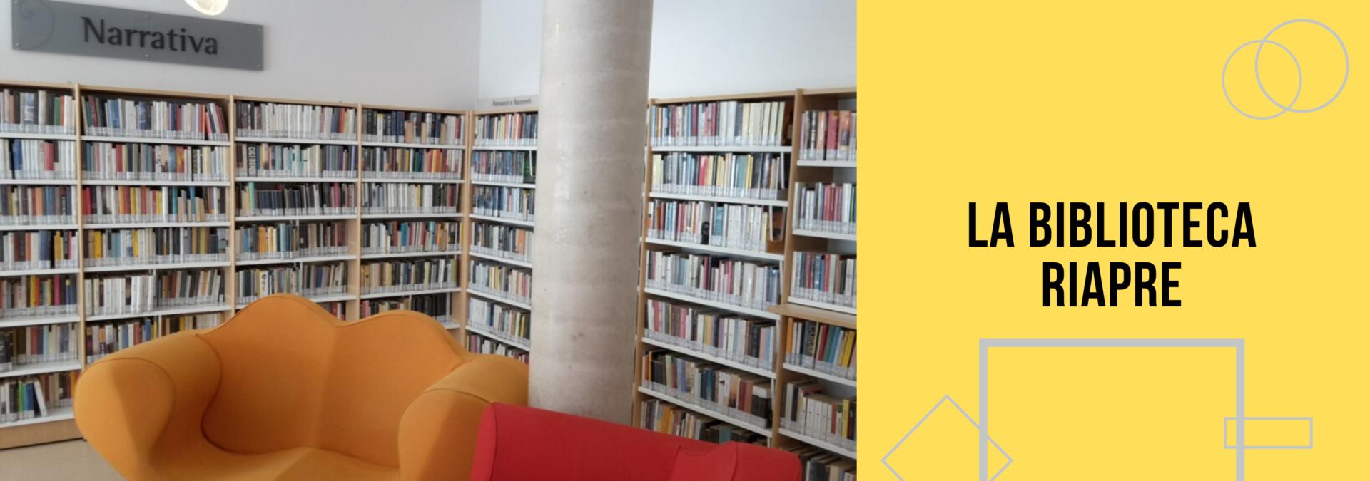 La biblioteca riapre
